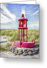 Southernmost Point Buoy- Cape May Nj Greeting Card