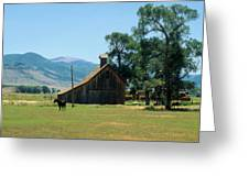 Southfork Barn Greeting Card
