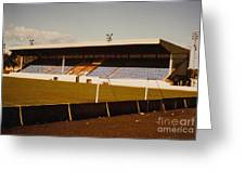 Southport Fc - Haig Avenue - Main Stand 2 - 1970s Greeting Card