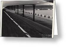Southport Fc - Haig Avenue - Scarisbrick End 1 - Bw - Early 60s Greeting Card