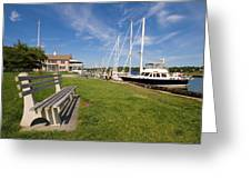 Southport Harbor Connecticut Greeting Card