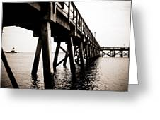 Southport Pier  Greeting Card