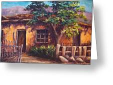 Southwest Adobe Greeting Card