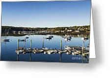 Southwest Harbor Maine Greeting Card