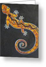 Southwest Lizard Greeting Card