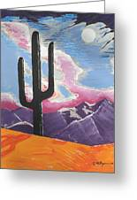 Southwest Skies 2 Greeting Card