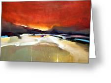 Southwest Sundown Greeting Card