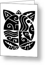 Southwest Tribal Tortuga Greeting Card