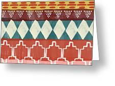 Southwestern 1- Art By Linda Woods Greeting Card