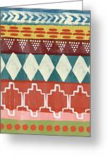 Southwestern 1- Art By Linda Woods Greeting Card