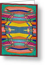 Southwestern Rug Greeting Card