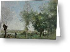 Souvenir Of Coubron Greeting Card