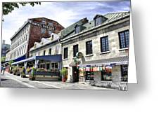 Souvenirs Montreal Greeting Card