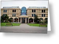 Sovereign Shopping Centre - Entrance From The Garden Greeting Card