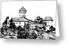 Sovinec - Castle Of The Holy Order Greeting Card