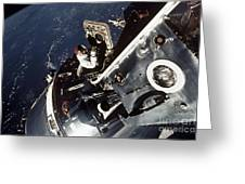 Space: Apollo 9 Greeting Card