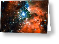 Space Image Star Cluster Orange Blue Photograph By