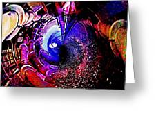 Space In Another Dimension Greeting Card