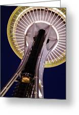 Space Needle Close-up Greeting Card