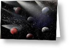 Space Odyssey Greeting Card