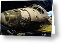 Space Shuttle Atlantis Greeting Card