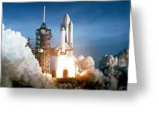 Space Shuttle Columbia - First Launch 1981 Greeting Card