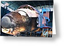 Space Shuttle Discovery View No. 2 Greeting Card