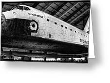 Space Shuttle Endeavour 2 Greeting Card