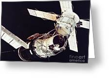 Space: Skylab 3, 1973 Greeting Card