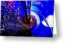 Space The Other Dimension Greeting Card