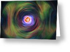 Space Time Sequence Greeting Card
