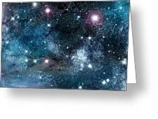 Space003 Greeting Card by Svetlana Sewell