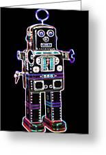 Spaceman Robot Greeting Card