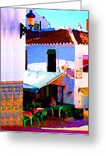 Spanish Cafe Greeting Card