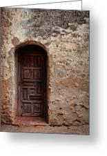 Spanish Mission Doorway Greeting Card