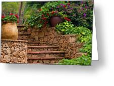 Spanish Retreat Greeting Card