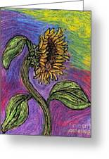 Spanish Sunflower Greeting Card