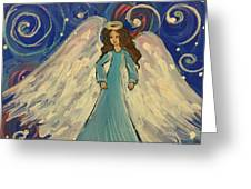 Sparkle Angel Greeting Card