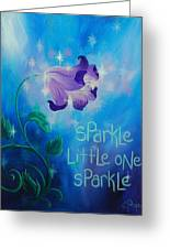 Sparkle, Little One Greeting Card