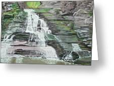 Sparkling Falls Greeting Card
