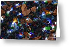 Sparkling Leaves Greeting Card