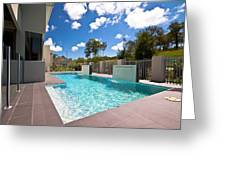 Sparkling New Pool Greeting Card