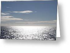 Sparkling Ocean Greeting Card