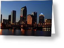Sparkling Tampa Bay Greeting Card