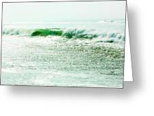 Sparkling Waves 2 Greeting Card