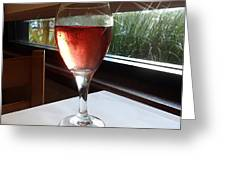 Sparkling Wine Greeting Card
