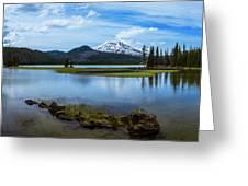 Sparks Lake, Oregon Greeting Card