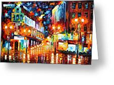 Sparks Of Freedom Greeting Card
