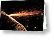 Sparks Will Fly Greeting Card by Kristin Elmquist