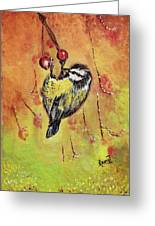 Sparrow - Bird Greeting Card